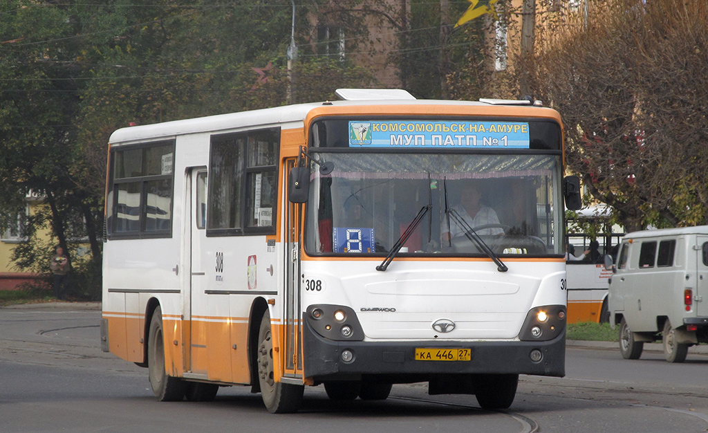 Комсомольск-на-Амуре. Daewoo BS106 ка446