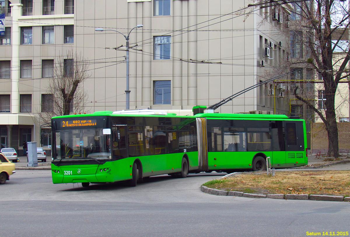 Харьков. ЛАЗ-Е301 №3201