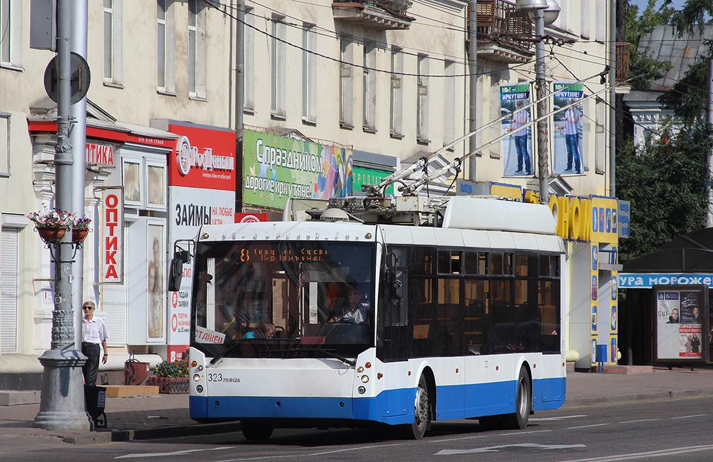 Иркутск. ТролЗа-5265.00 Мегаполис №323