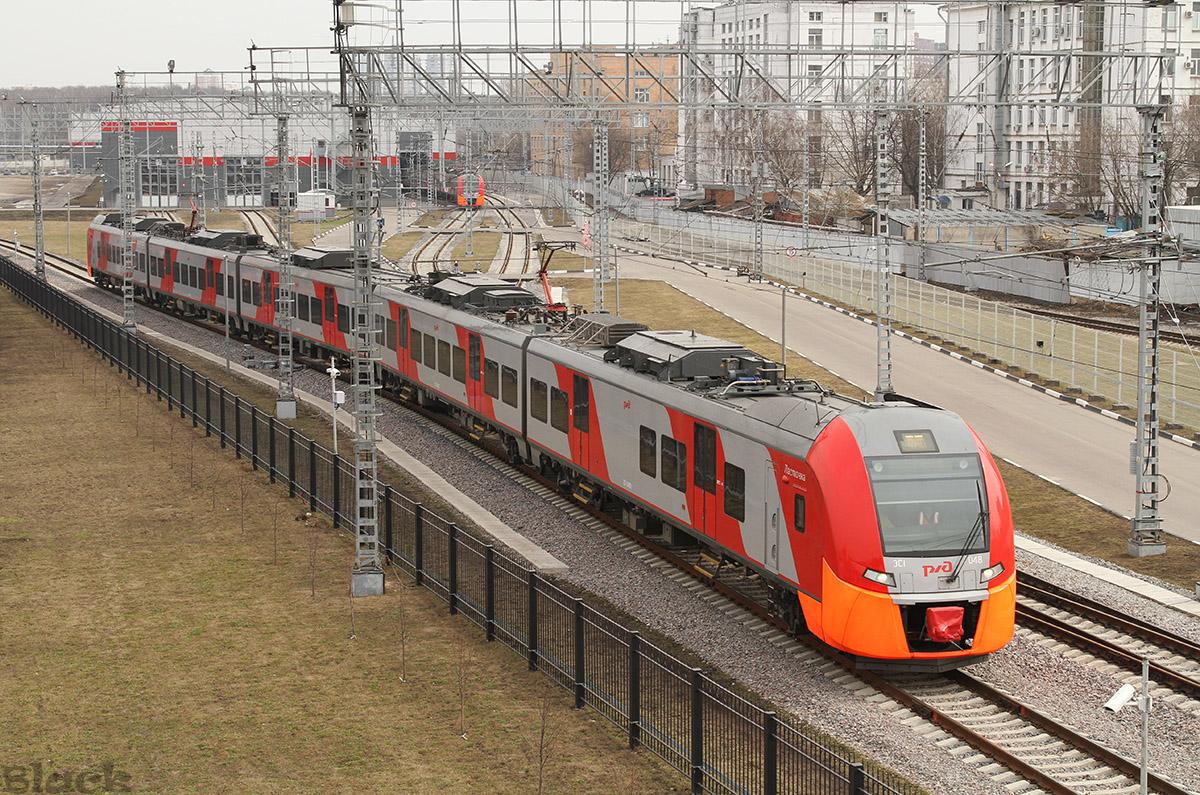 Москва. ЭС1-048 Ласточка