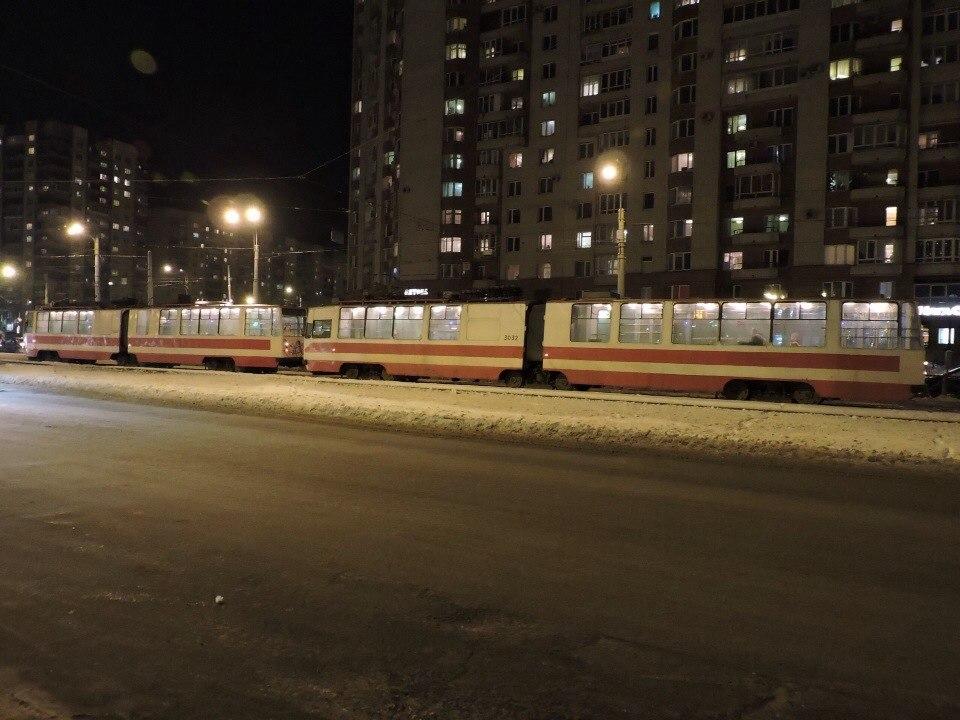 Санкт-Петербург. ЛВС-86К №3032, ЛВС-86К №3067