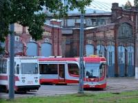 Санкт-Петербург. 71-88Г №2125, 71-623-03 (КТМ-23) №3701, 71-623-03 (КТМ-23) №3702