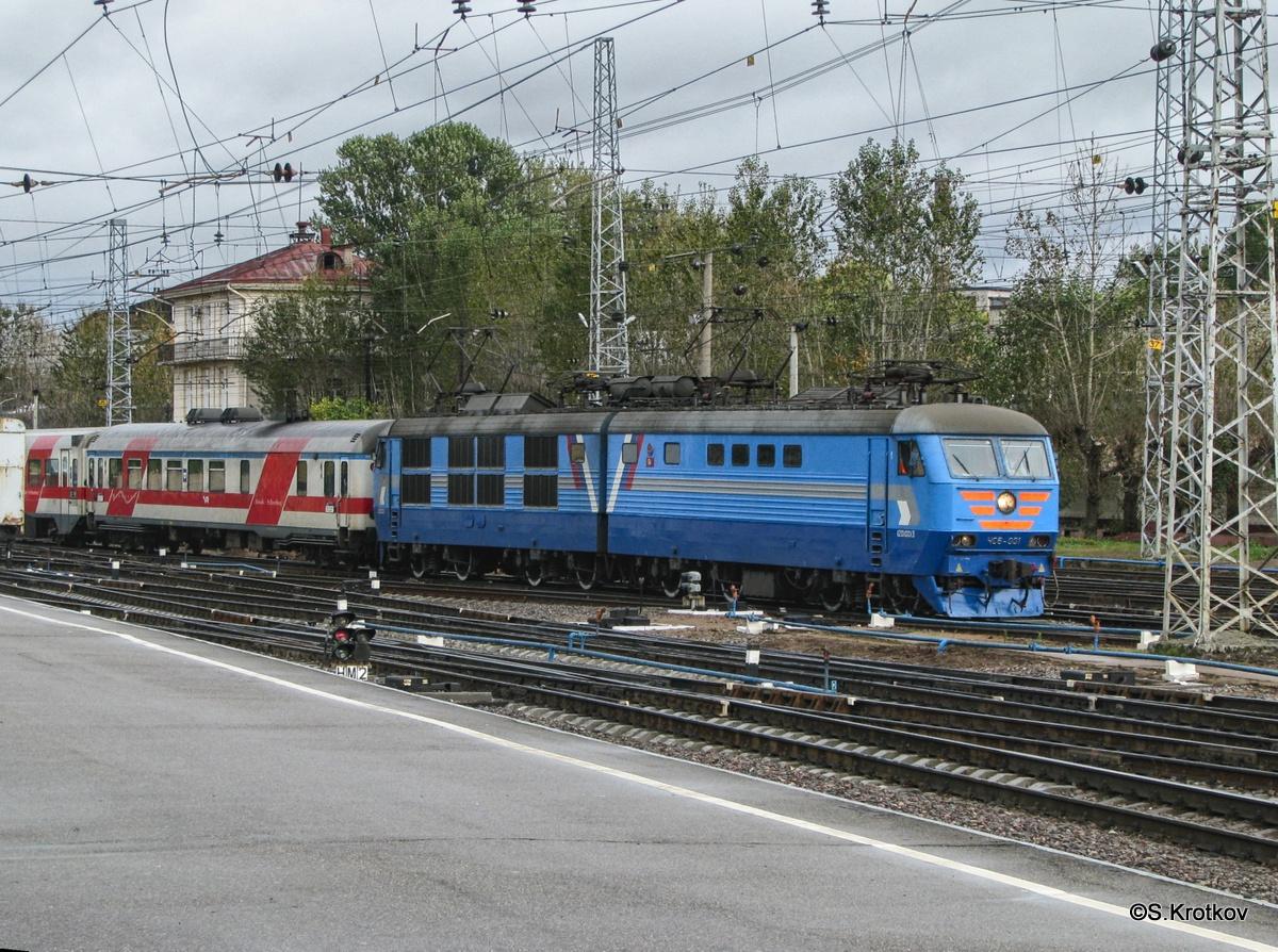 Санкт-Петербург. ЧС6-001