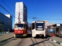 Москва. 71-619К (КТМ-19К) №1293, Tatra T3 (МТТЧ) №1411