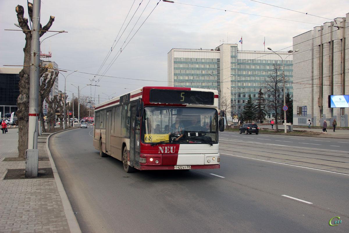 Пермь. MAN A15 NL232 CNG т422ет