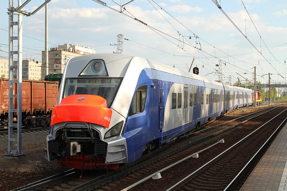 Москва. ЭГ2Тв-002 Иволга