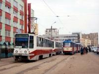 71-608К (КТМ-8) №167, 71-608К (КТМ-8) №165, Tatra T3SU №105, Tatra T3SU №106