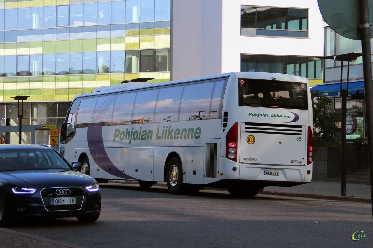 Хельсинки. Volvo 9700S NG GKB-327