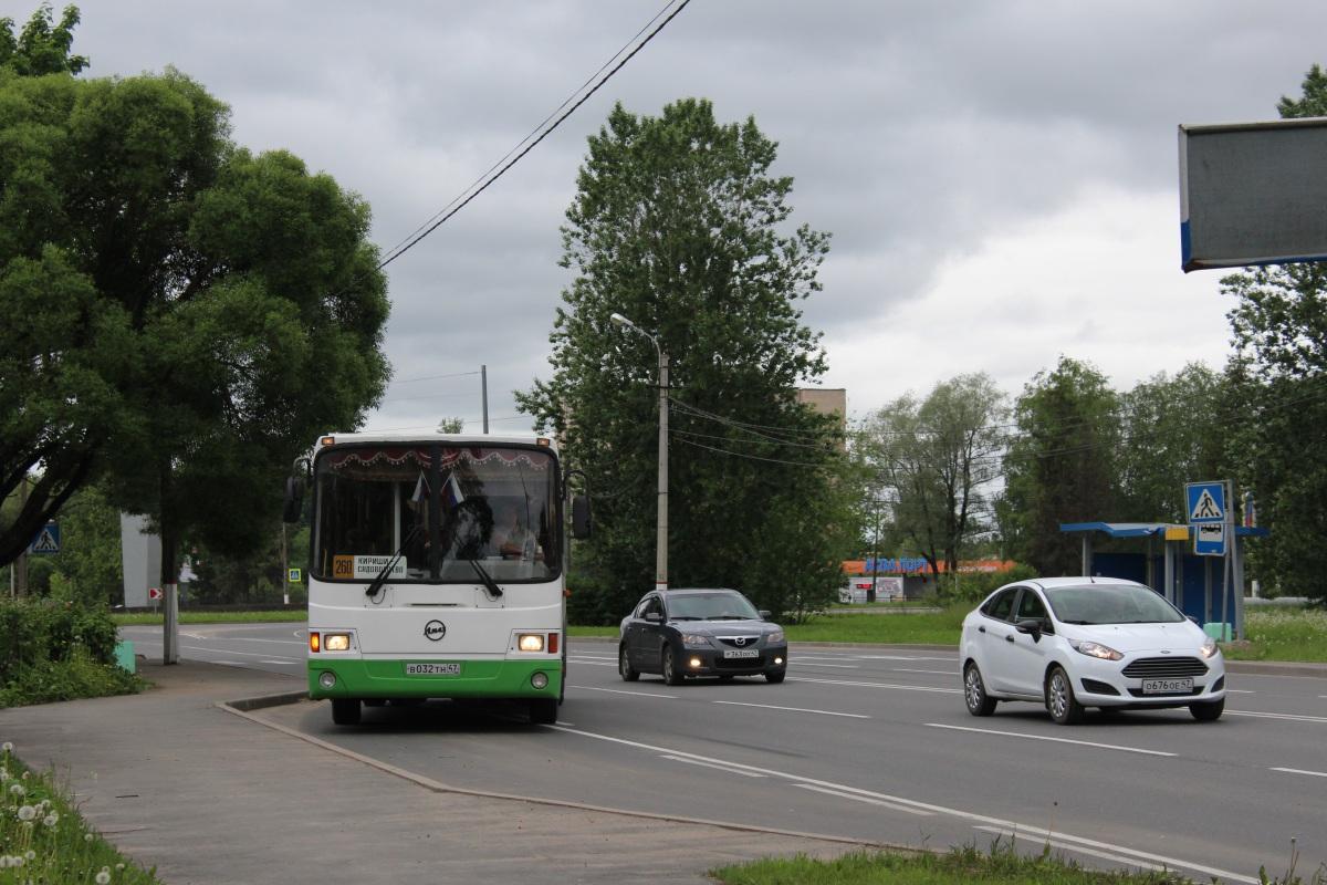 Кириши. ЛиАЗ-5256.36 в032тн