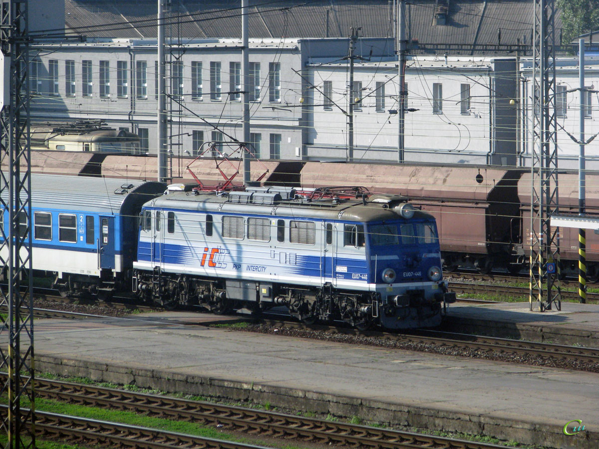 Острава. EU07-446