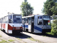Челябинск. 71-608К (КТМ-8) №2046, 71-605 (КТМ-5) №2030