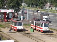 Санкт-Петербург. ЛВС-86К №3030, 71-134К (ЛМ-99К) №0428
