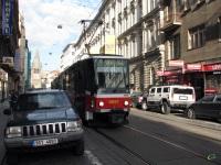 Прага. Tatra T6A5 №8657