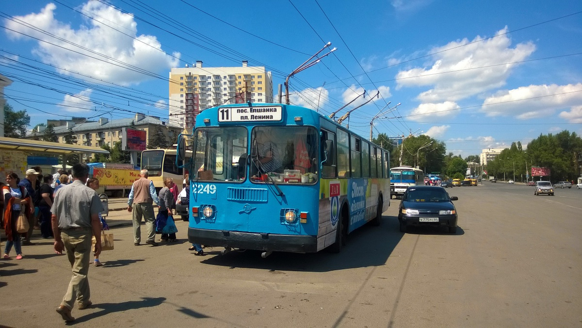 Саратов. ЗиУ-682Г-016 (ЗиУ-682Г0М) №2249