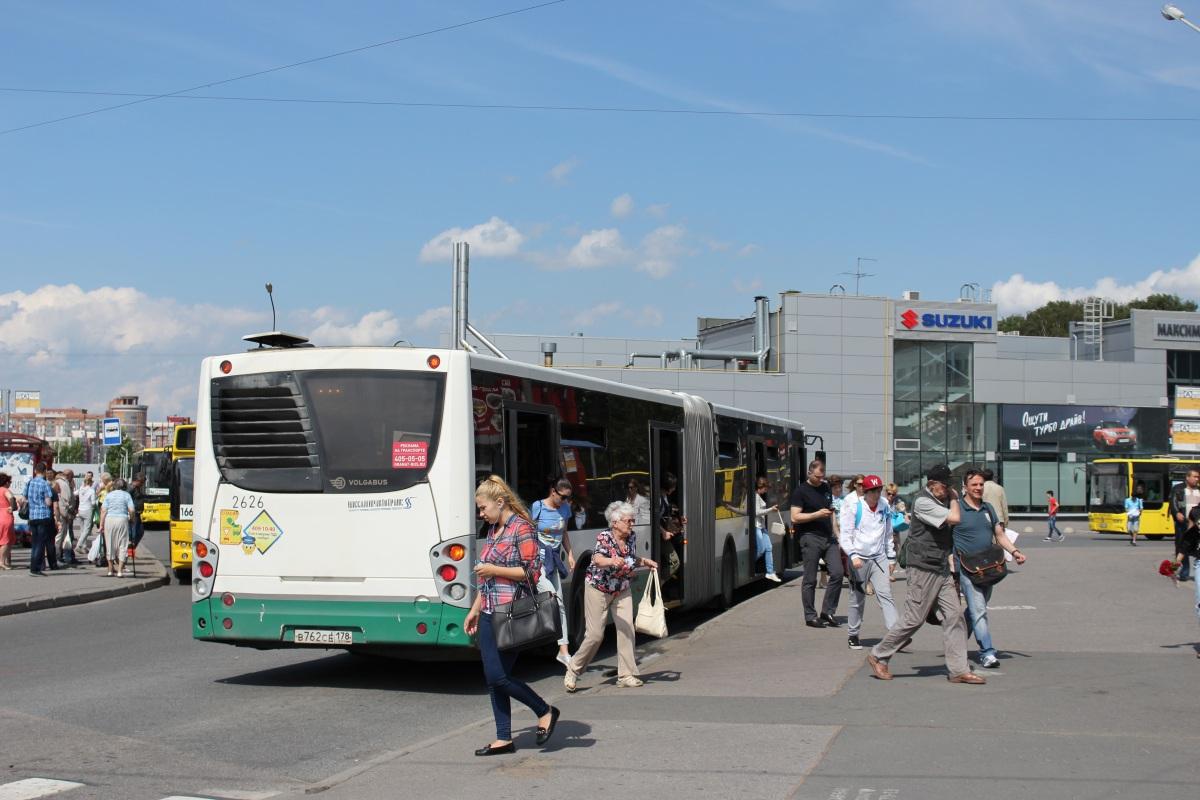 Санкт-Петербург. Volgabus-6271.00 в762се