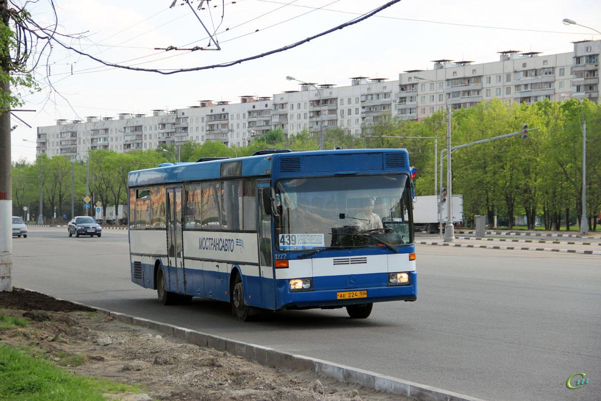 Москва. Mercedes-Benz O407 ае224
