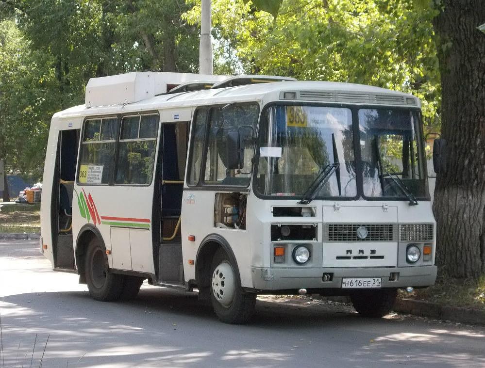 Воронеж. ПАЗ-32054 н616ее