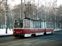 Санкт-Петербург. ЛВС-86К №3031