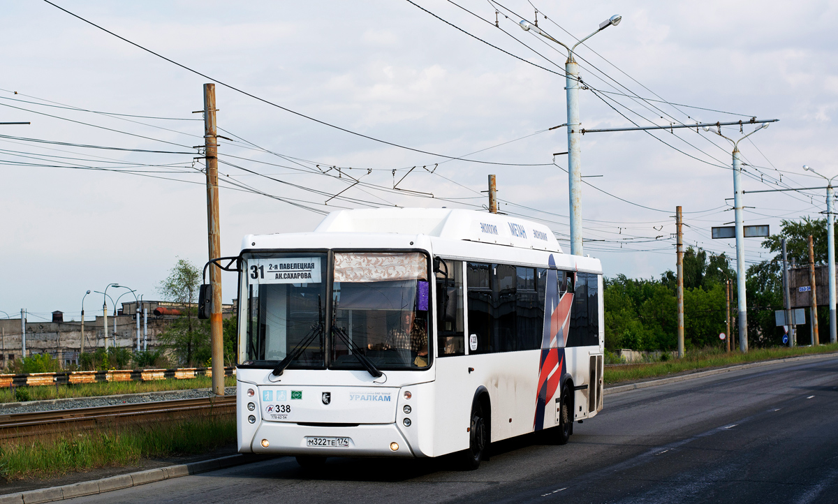 Челябинск. НефАЗ-5299-30-51 (5299UN) м322те