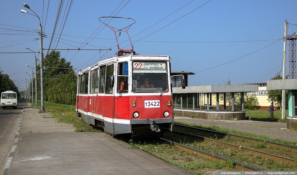 Нижний Новгород. 71-605 (КТМ-5) №3422