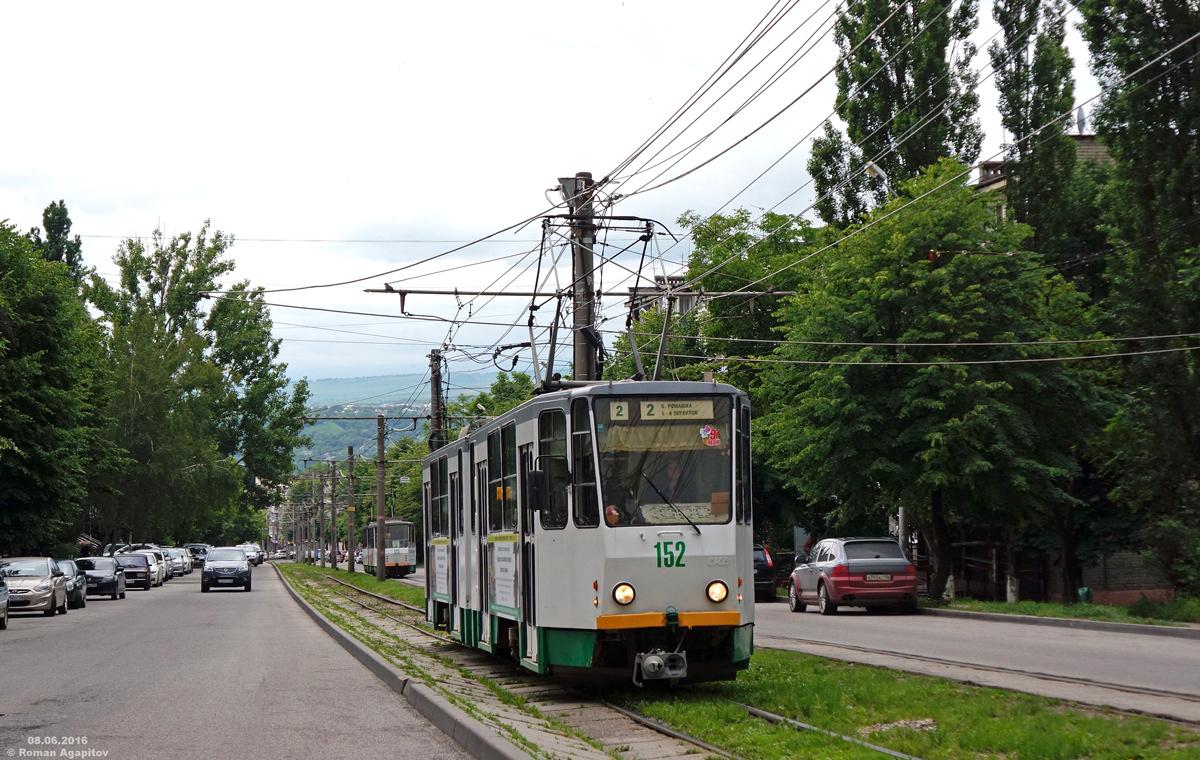 Пятигорск. Tatra KT4SU №152