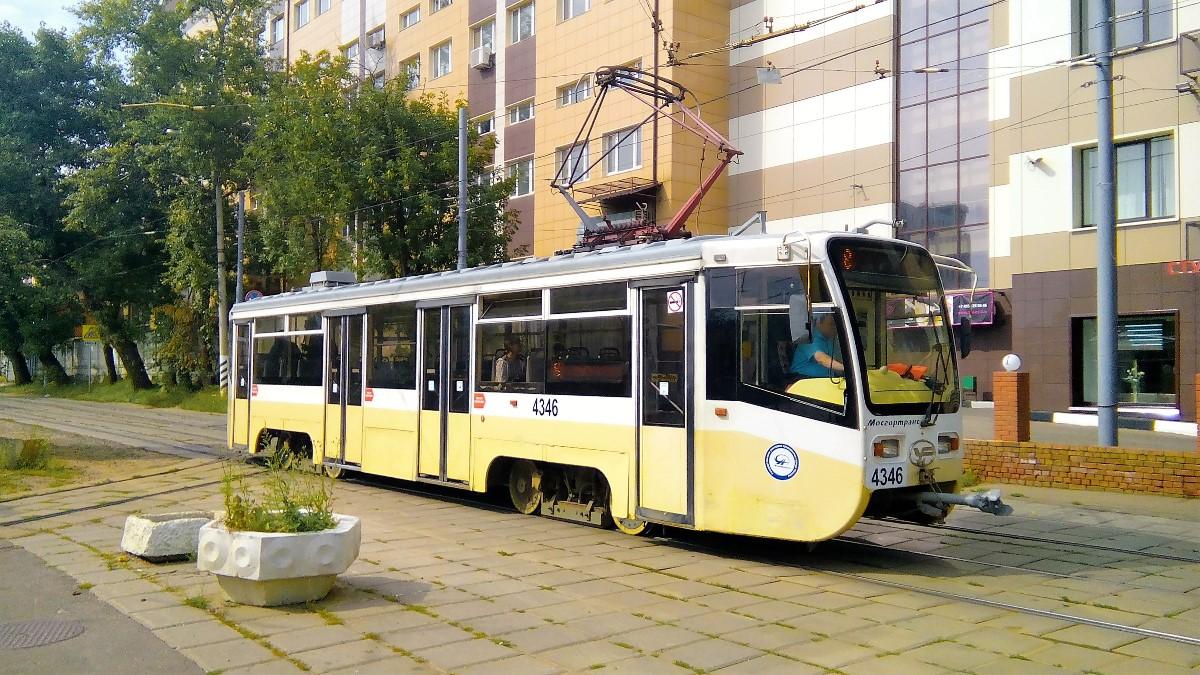 Москва. 71-619А (КТМ-19А) №4346