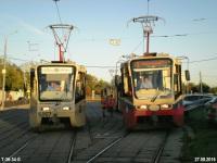 Москва. 71-619А (КТМ-19А) №2166, 71-619К (КТМ-19К) №5057