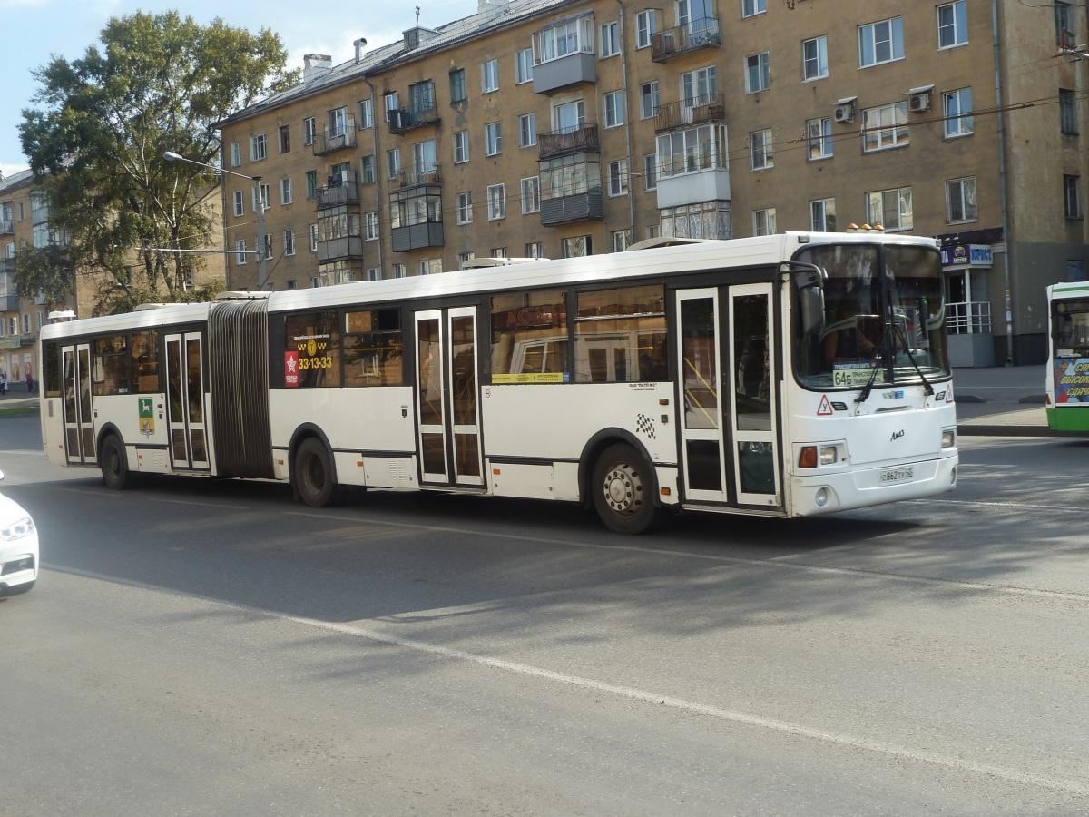Новокузнецк. ЛиАЗ-6212.00 с862ту