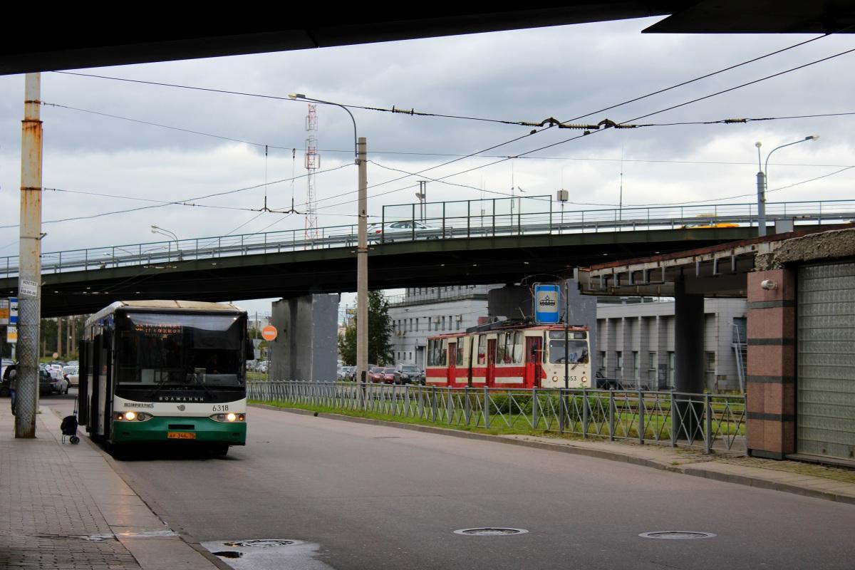 Санкт-Петербург. ЛВС-86К №3053, Волжанин-6270.00 ау344