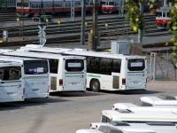 Хельсинки. Irisbus Crossway 12.8M CHP-939, Volvo 8700LE KXG-250, Volvo 8700LE CYJ-153, Volvo 8700LE CYJ-157