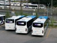 Хельсинки. Volvo 8900 LLR-590, Irisbus Crossway LE 12.8M CHP-997, Volvo 8900 LLR-576