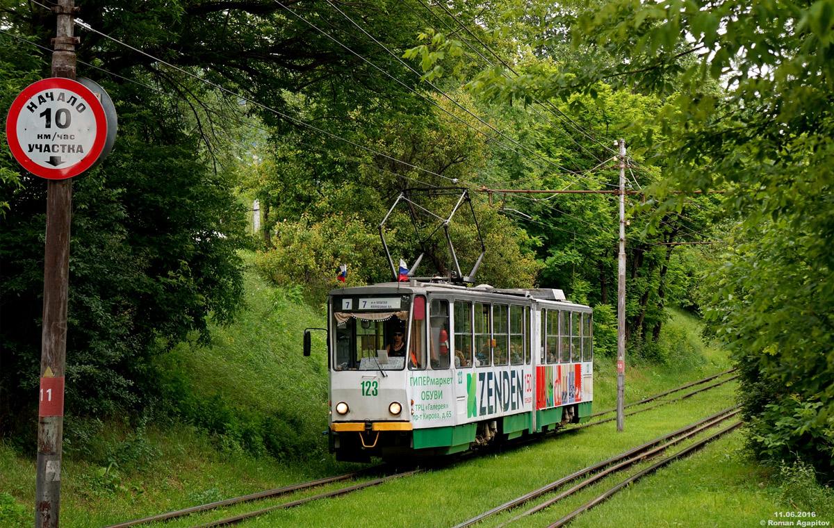 Пятигорск. Tatra KT4SU №123