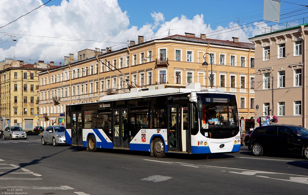 Санкт-Петербург. ВМЗ-5298.01 Авангард №1228