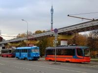 Москва. 71-623-02 (КТМ-23) №2649, Tatra T3 (МТТА) №3367