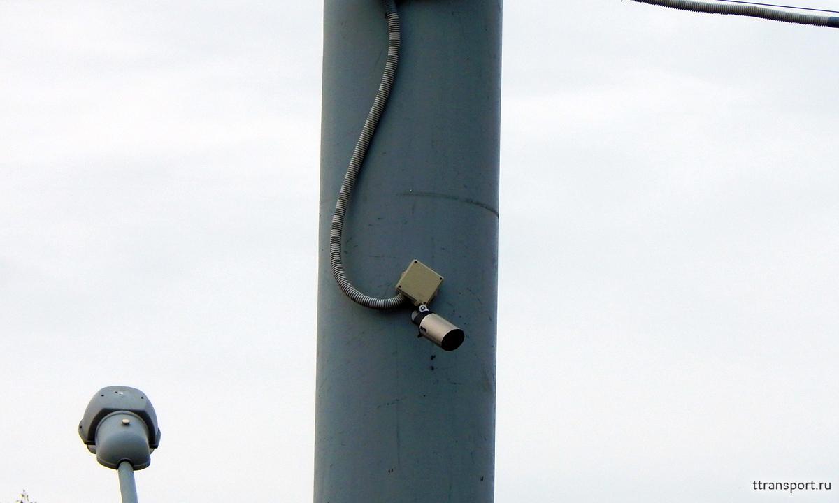 Гродно. Одна из камер, установленная по периметру территории