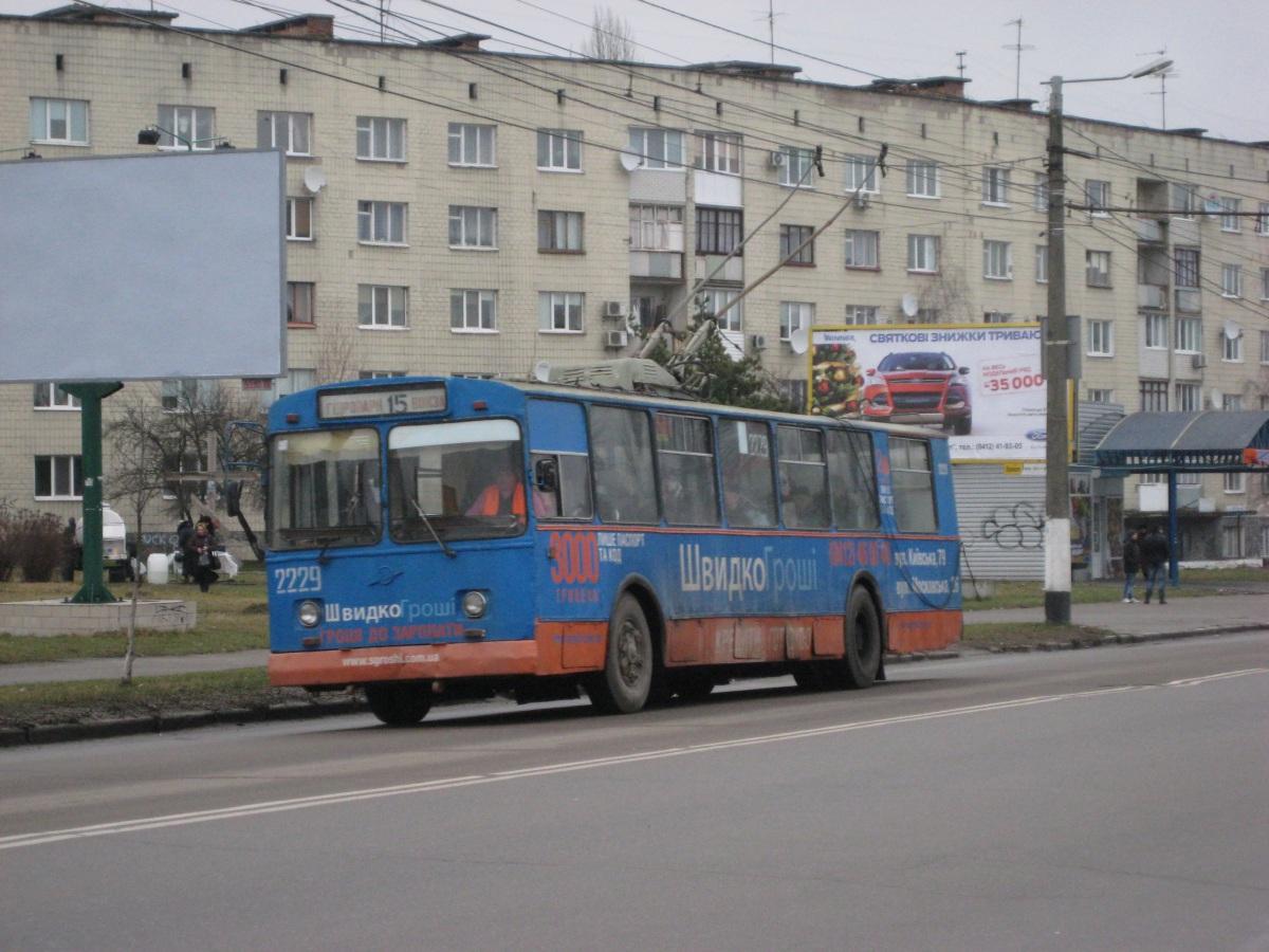 Житомир. ЗиУ-682В00 №2229
