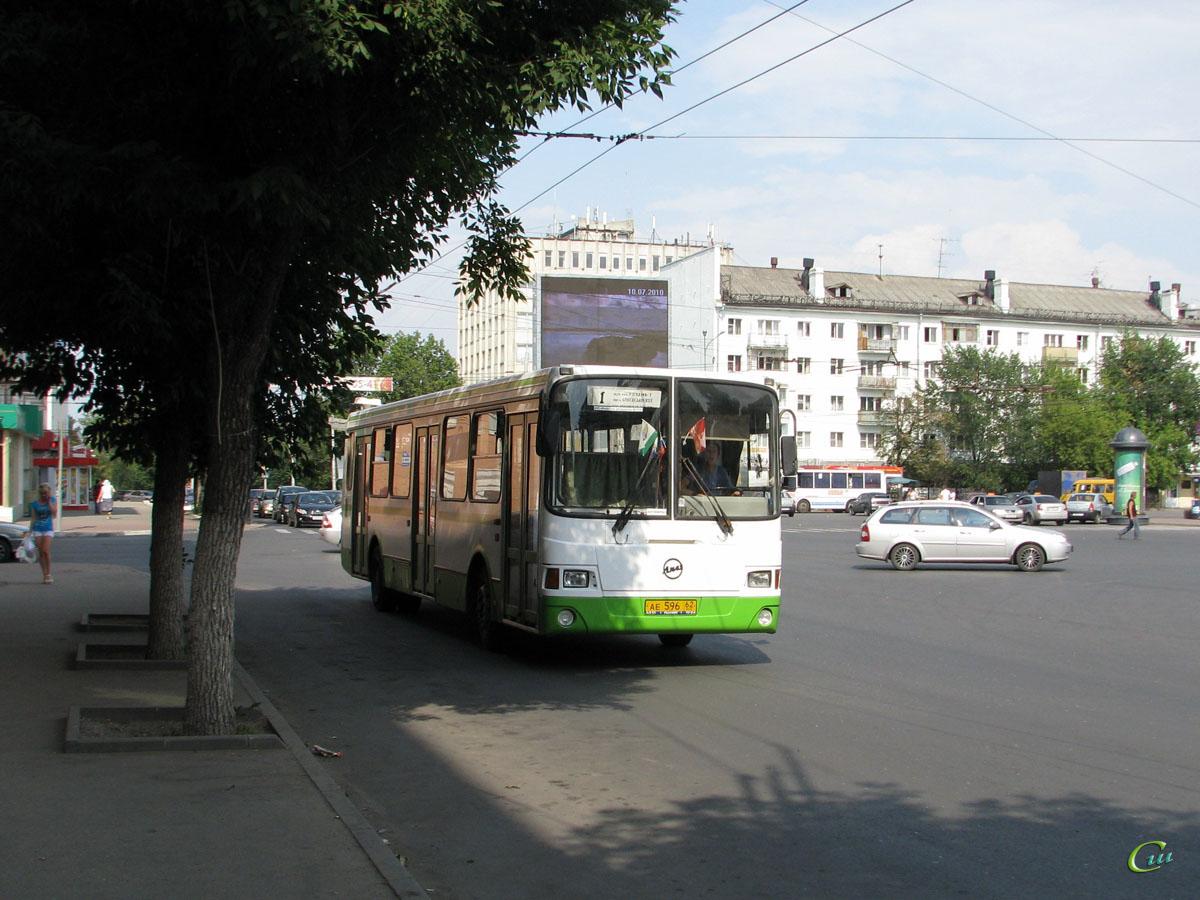 Рязань. ЛиАЗ-5256.26 ае596