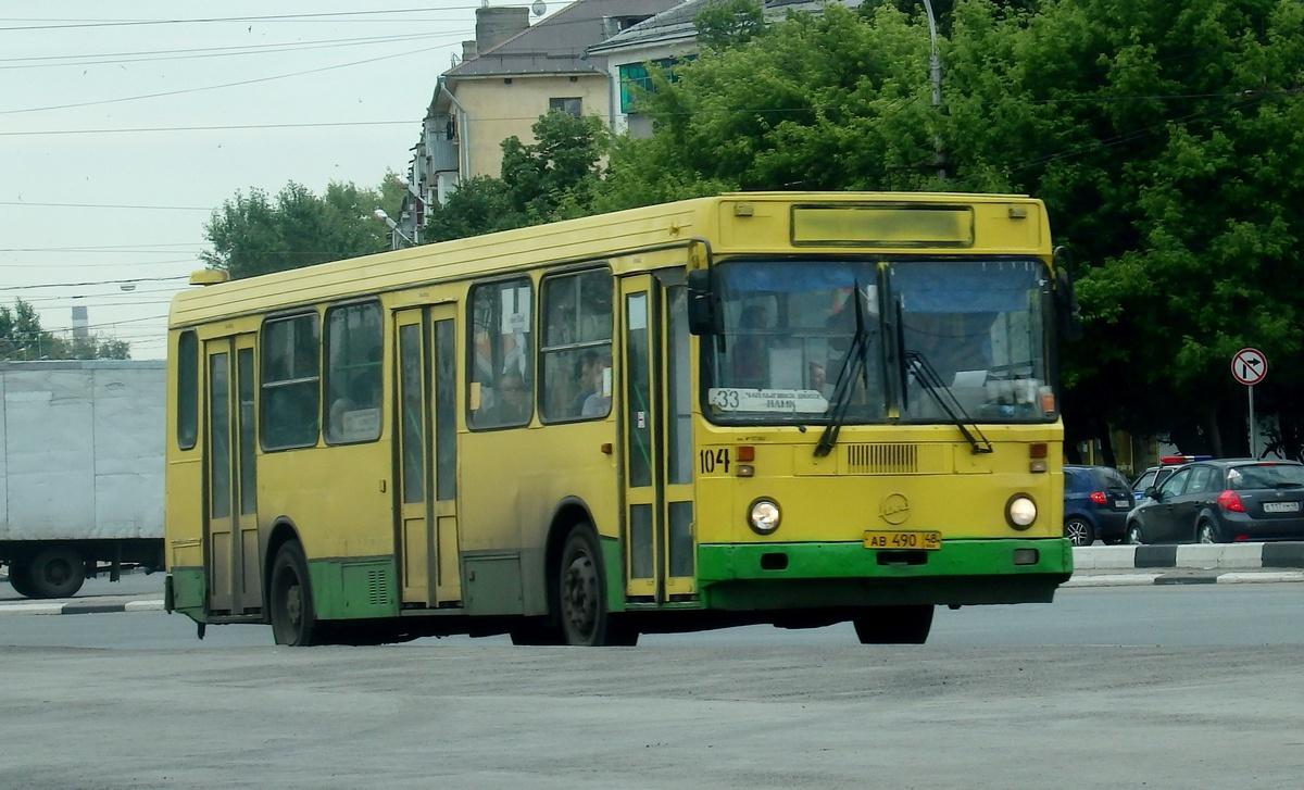 Липецк. ЛиАЗ-5256.45 ав490