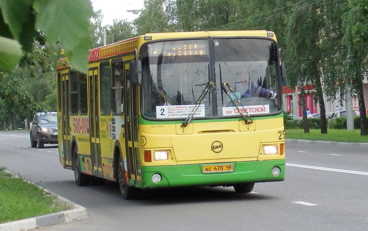 Липецк. ЛиАЗ-5293.00 ас470