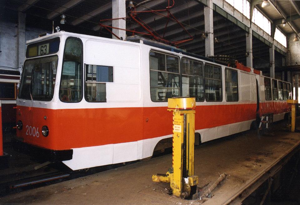 Санкт-Петербург. ЛВС-86К №2006