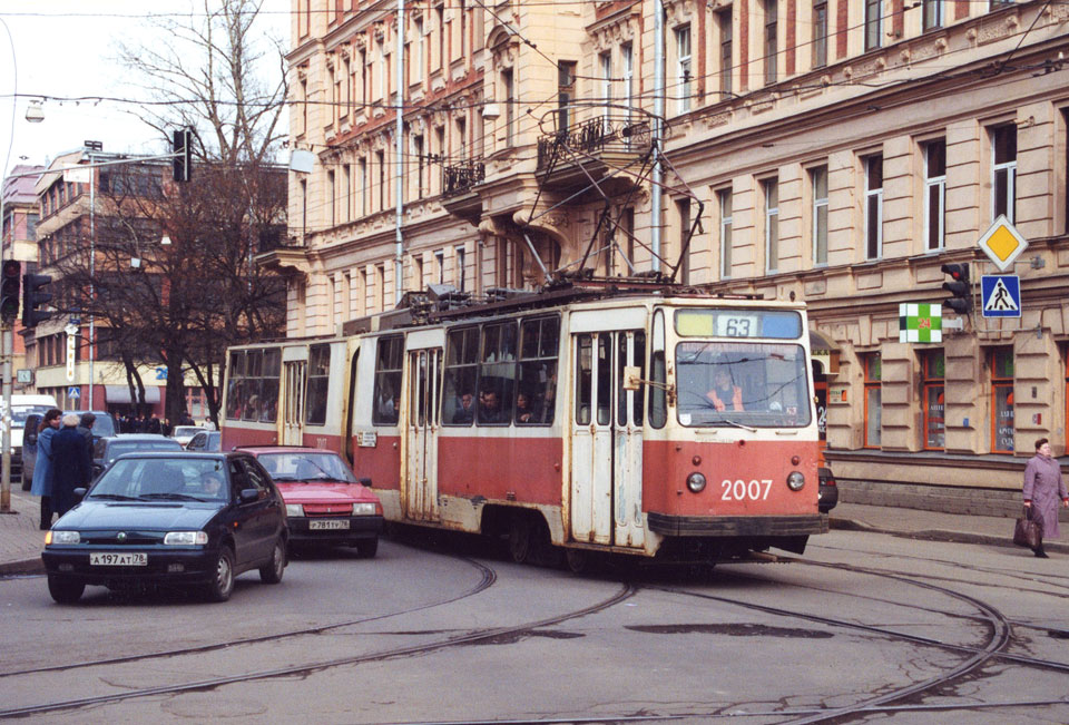 Санкт-Петербург. ЛВС-86К №2007