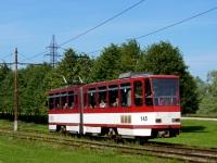 Таллин. Tatra KT4D №145
