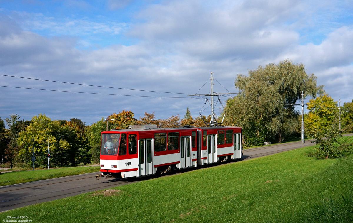 Таллин. Tatra KT4D №146
