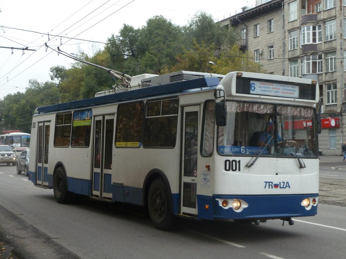 Новокузнецк. ЗиУ-682Г-016.02 (ЗиУ-682Г0М) №001