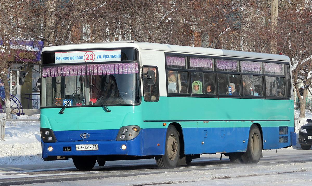 Комсомольск-на-Амуре. Daewoo BS106 а766ок