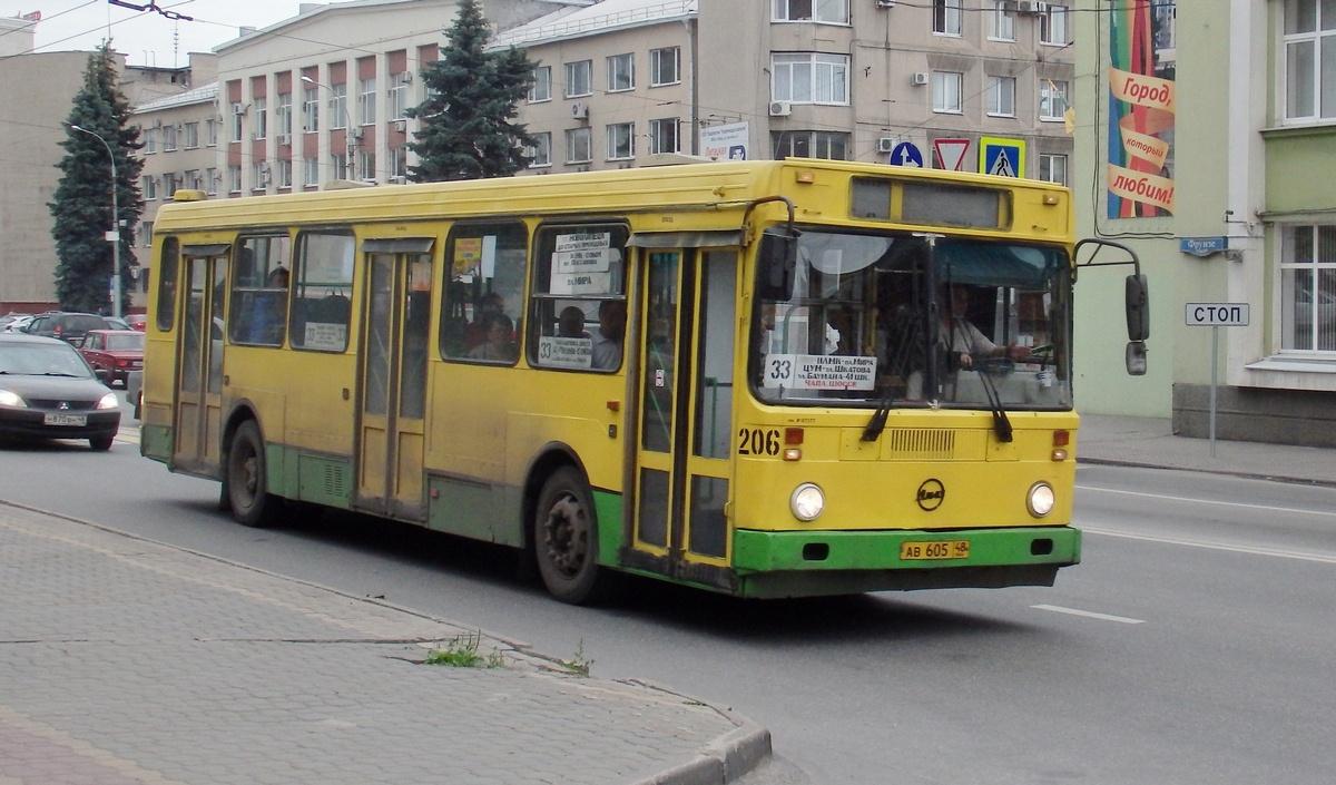 Липецк. ЛиАЗ-5256.45 ав605