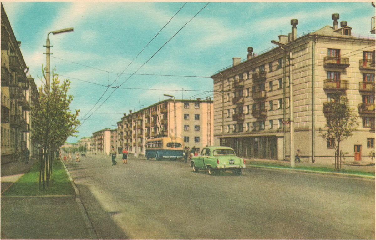 Минск. Троллейбус МТБ-82Д