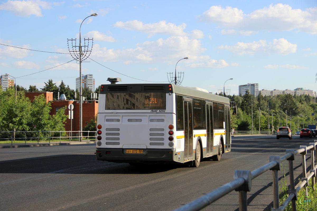 Москва. ЛиАЗ-5292.60 (10.5) ет072