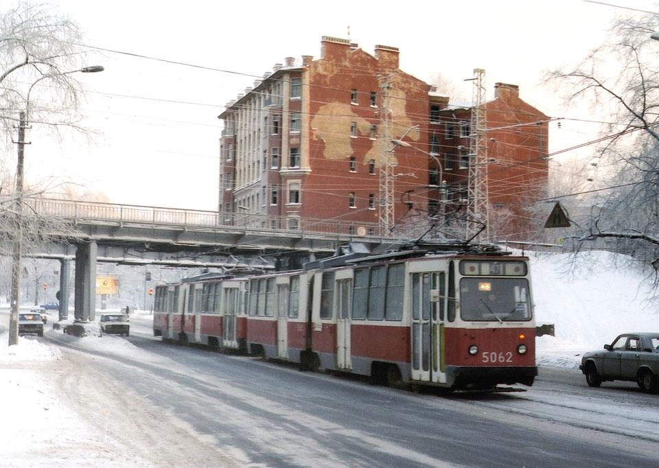 Санкт-Петербург. ЛВС-86К №5062, ЛВС-86К №5063