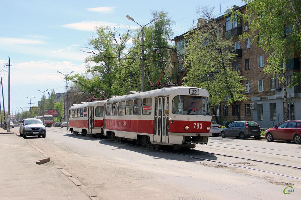 Самара. Tatra T3 (двухдверная) №783